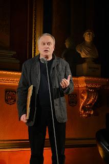 Colin Matthews collection the Chamber award at British Composer Awards 2013 - photo Mark Allan