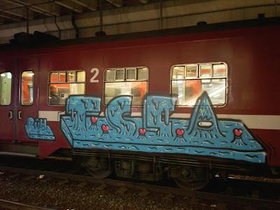graffiti RUH TSSA