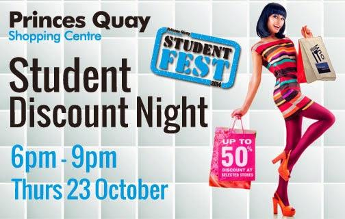 Princes Quay Student Discount