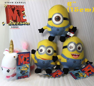 Despicable Me Minion Figure Toy Cute Movie Character Stuffed Animal Teddy Doll