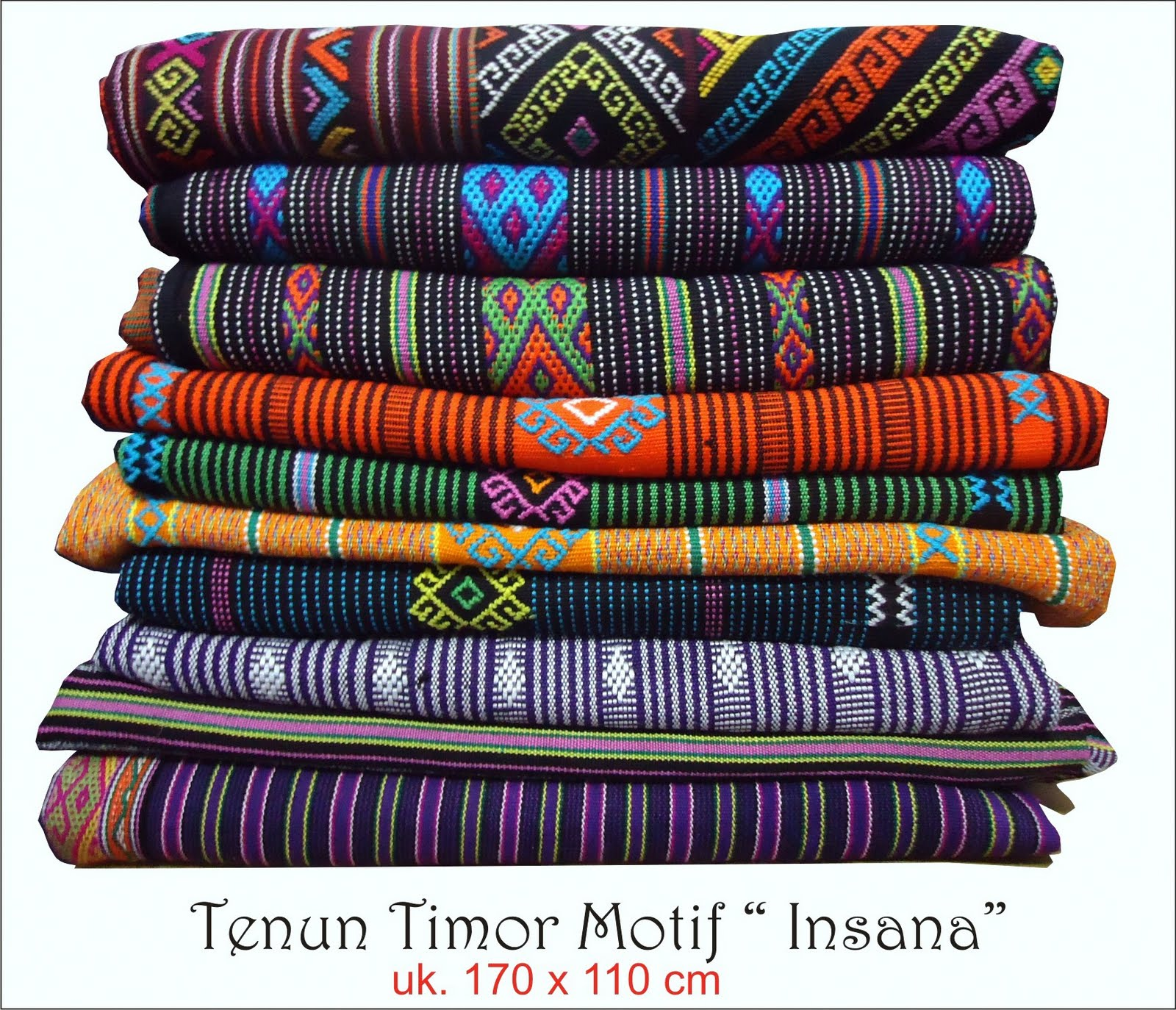 Kain Tenun Timor - Motif Insana Sotis dan Buna