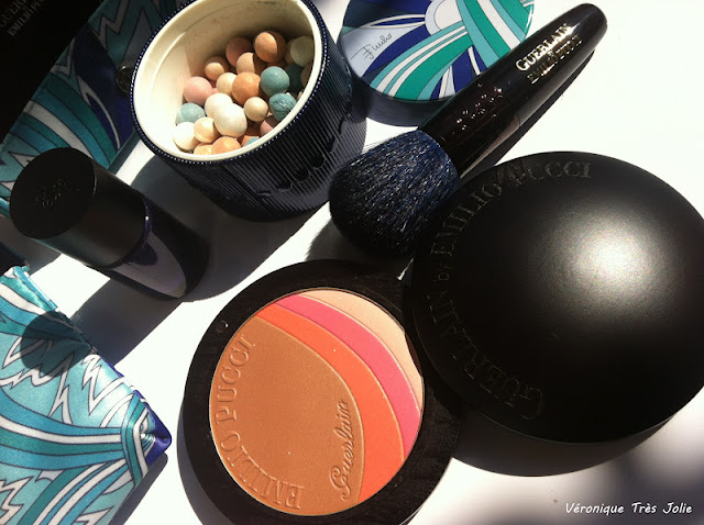 Guerlain Meteorites e Terra Azzurra by Emilio Pucci Summer Collection 2012