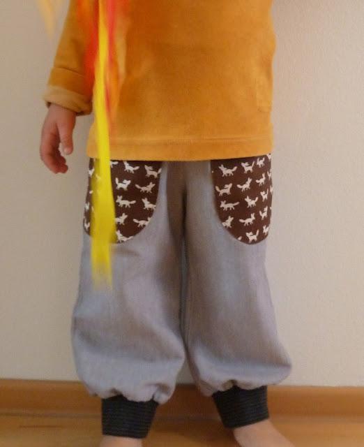Japanisches Schnittmuster Kinderhose