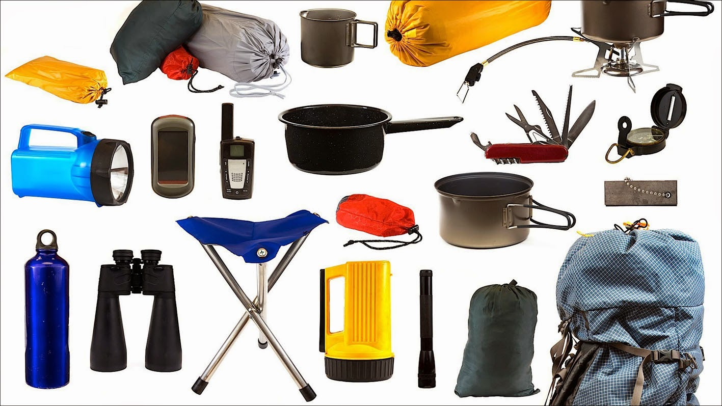 all about camping equipments