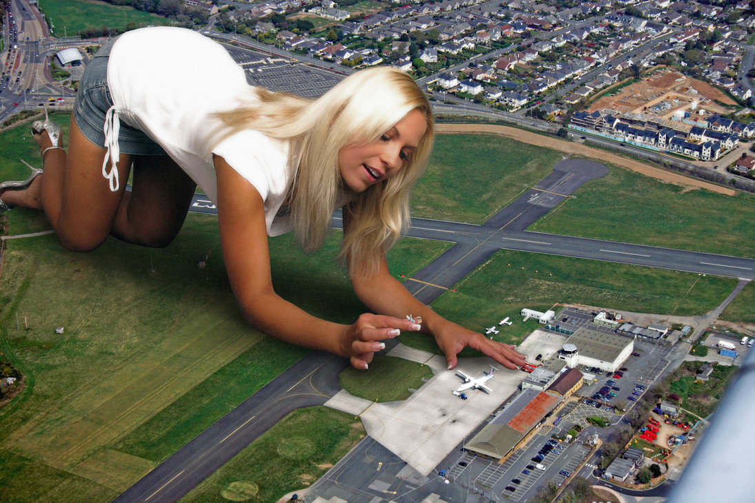 Fantasize giantess sex image