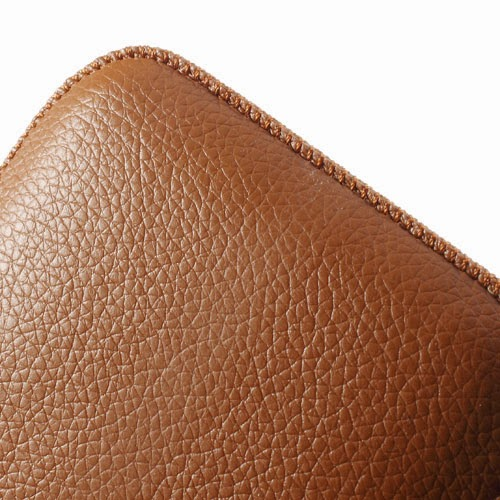 Universal 5 - 6 Inch Leather Pouch Case with Pull Tab for Samsung Galaxy Note 3 N9000 N7100, Size: 15.5 x 9cm - Brown