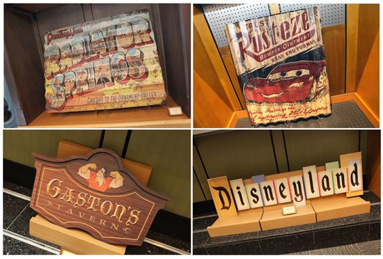 New Disney inspired Vintage Signage