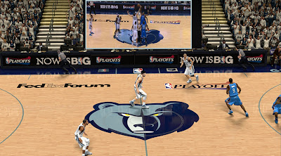 NBA 2K13 Playoffs Court Memphis Grizzlies Update