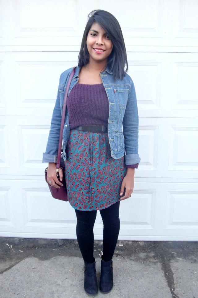 layered spring dress