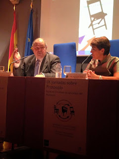 IX Jornadas de Protocolo. UNED Madrid 2015.