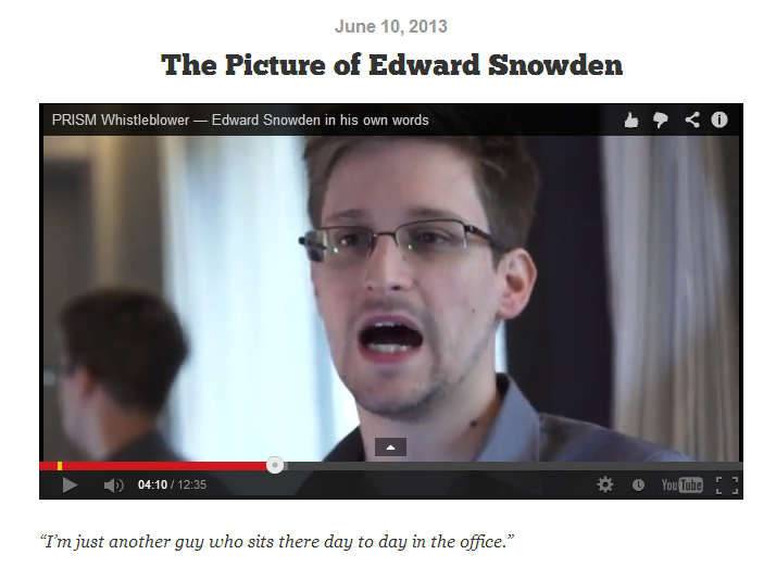 Edward Snowden News Review