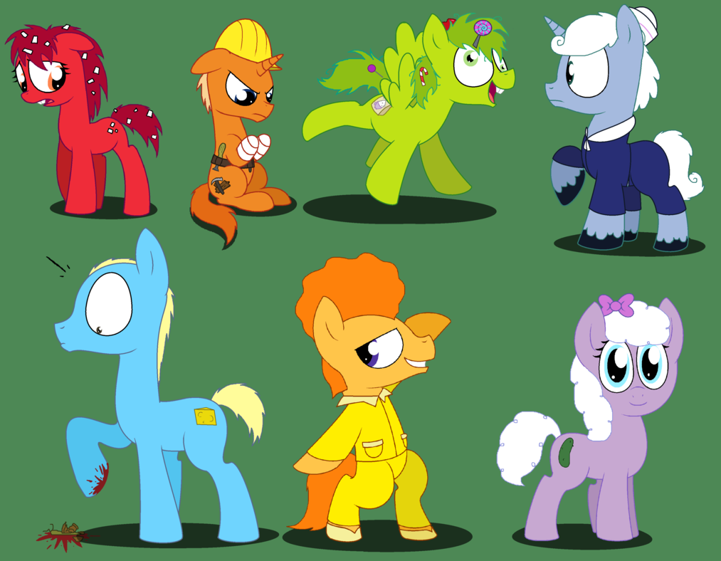 Happy Tree Friends And My Little Pony Hd Pictures Wallpaper Film