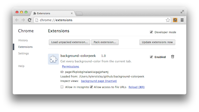 Building Your First Chrome Extension