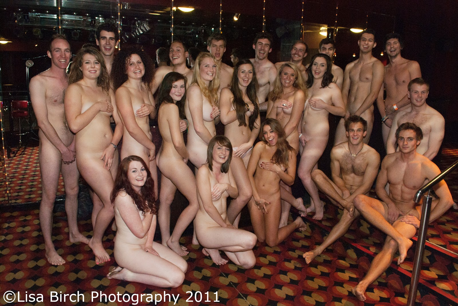 student girls naked calendar