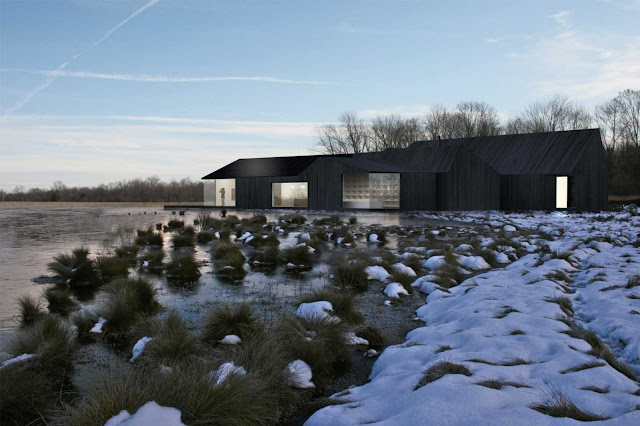 01 Great Fen Visitor Centre wins Shiro studio