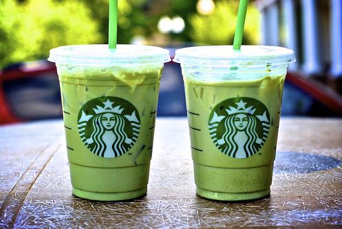 So, Hi: diy starbucks iced green tea latte.