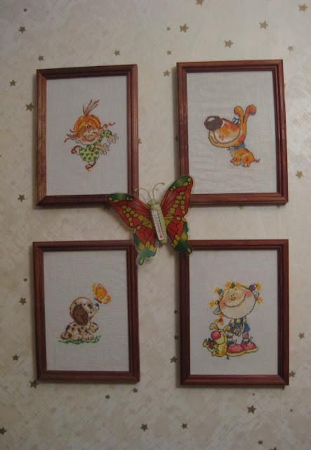 вышивка крестиком детские картинки