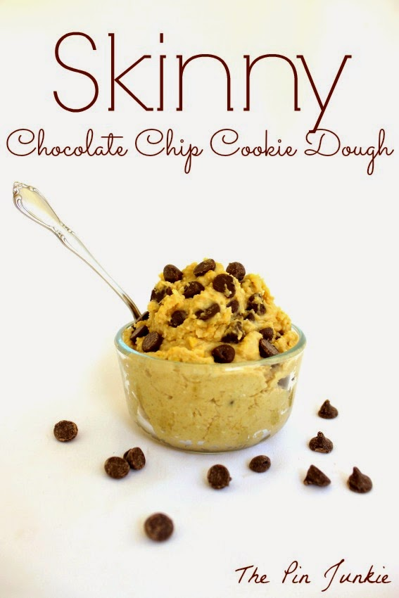 healthy chocolate-chip-cookie-dough skinny recipe
