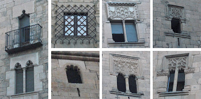 Detalle de las ventanas