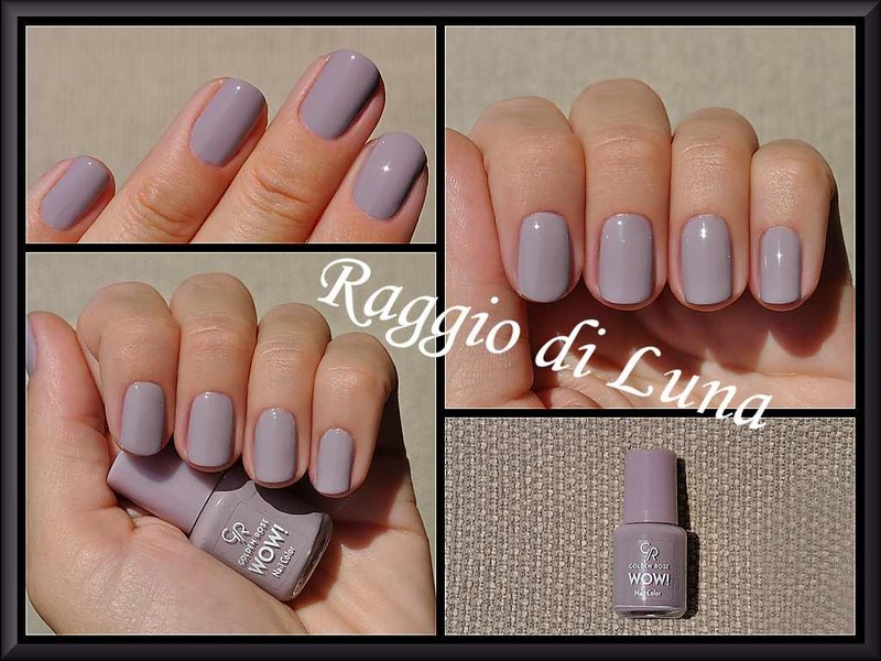 Raggio di Luna Nails: Golden Rose Wow! n° 13