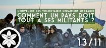 Mouvement des volontaires ukrainiens : comment un pays doit tout à ses militants