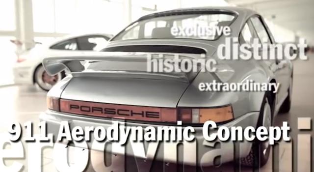Porsche 911 Aerodynamic Concept