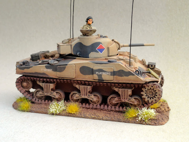 28mm, 1/56th, 1:56, Sherman V, SA Field Artillery, South African 6th Armoured Division, Italian Campaign, 1944, Warlord Games