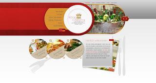 König-Catering Webseite von Bitskin