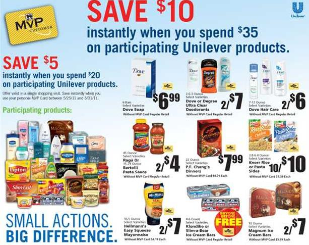 Unilever dove coupons