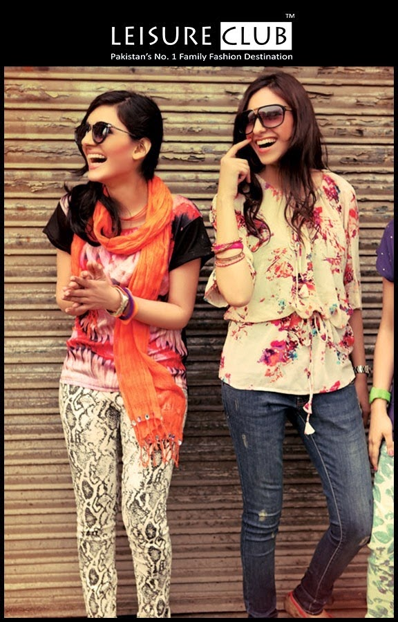 Leisure club spring summer howzaaatiii collection 2014 casual wear