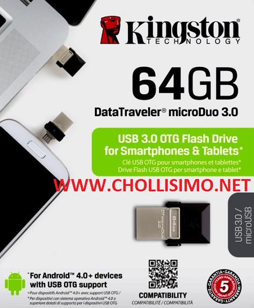 USB OTG rápido 3.0