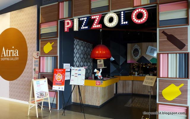 Pizzolo, Atria Shopping Gallery