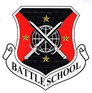 Battle School Logo Insiginia by Darian Robbins inspired by Ender's Game by Orson Scott Card