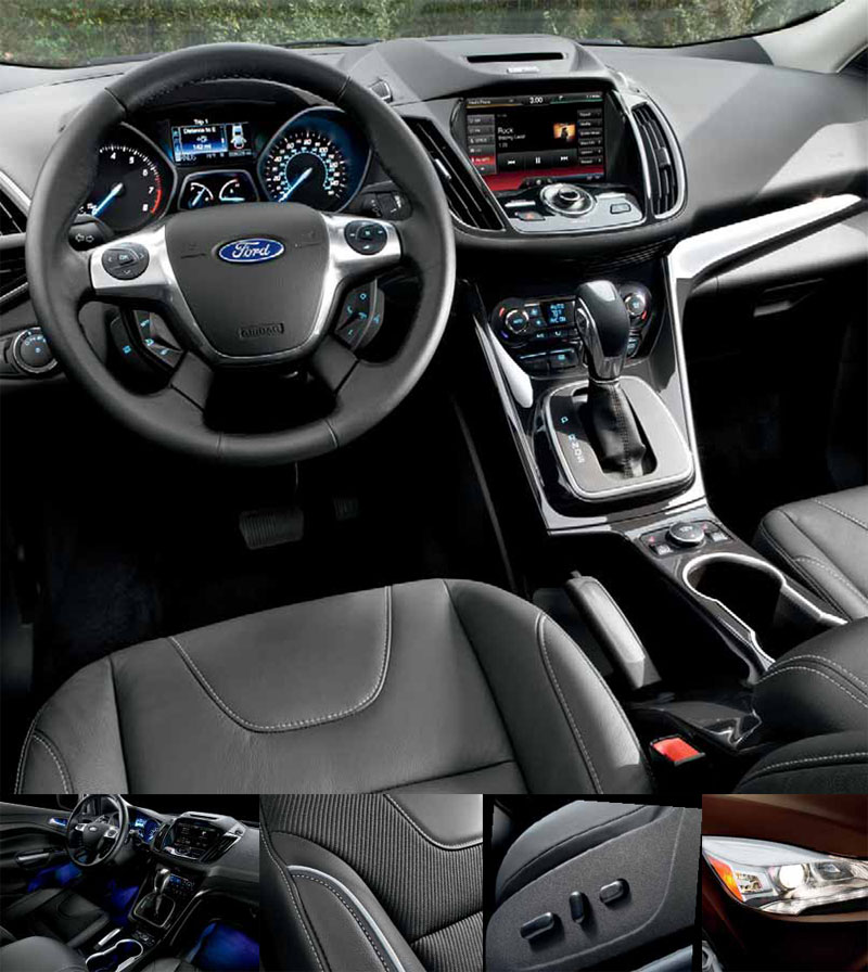 ford escape interior 2017 2018 2019 ford price release date reviews. Black Bedroom Furniture Sets. Home Design Ideas