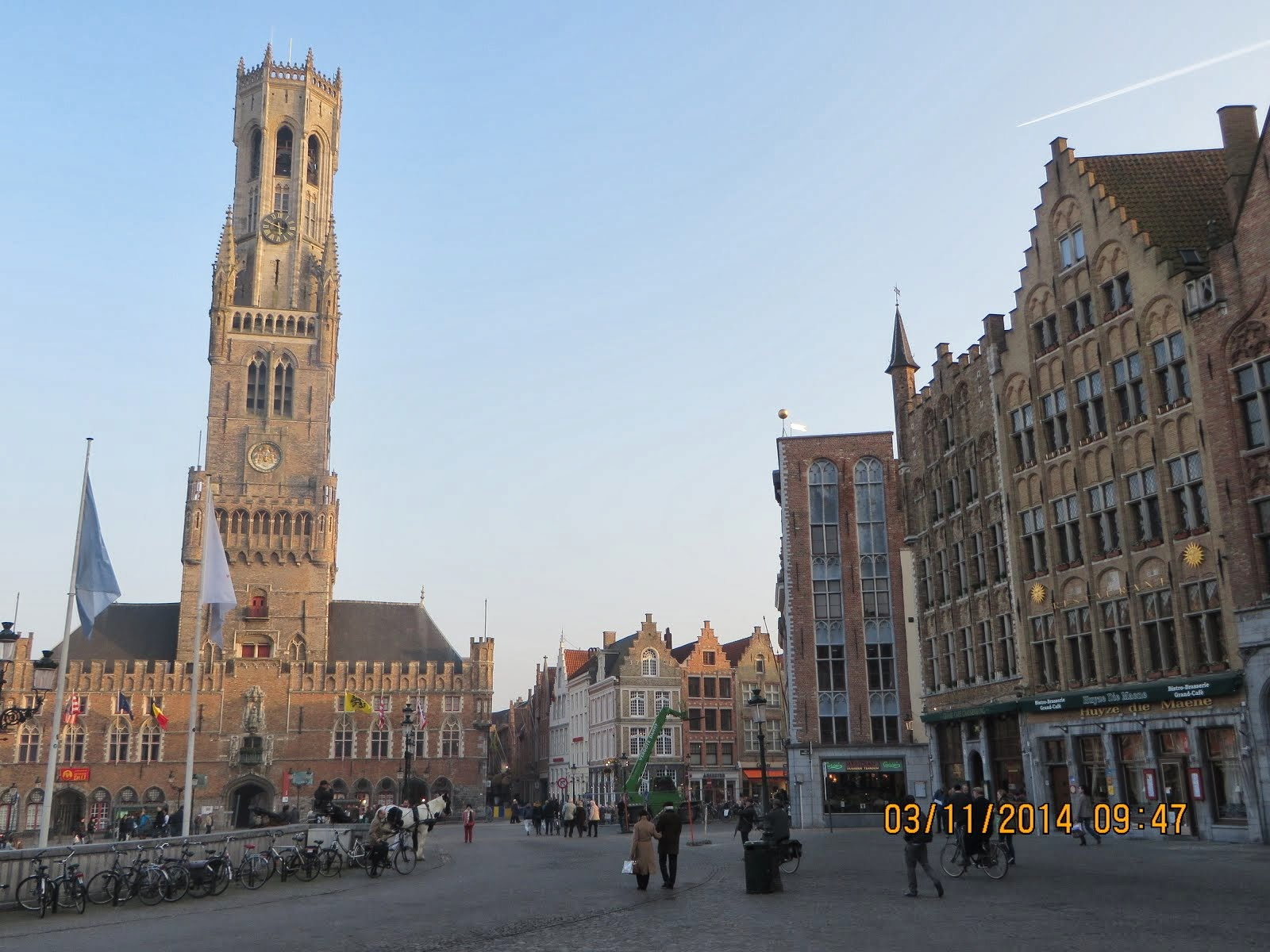 Brugge Tower Belfry