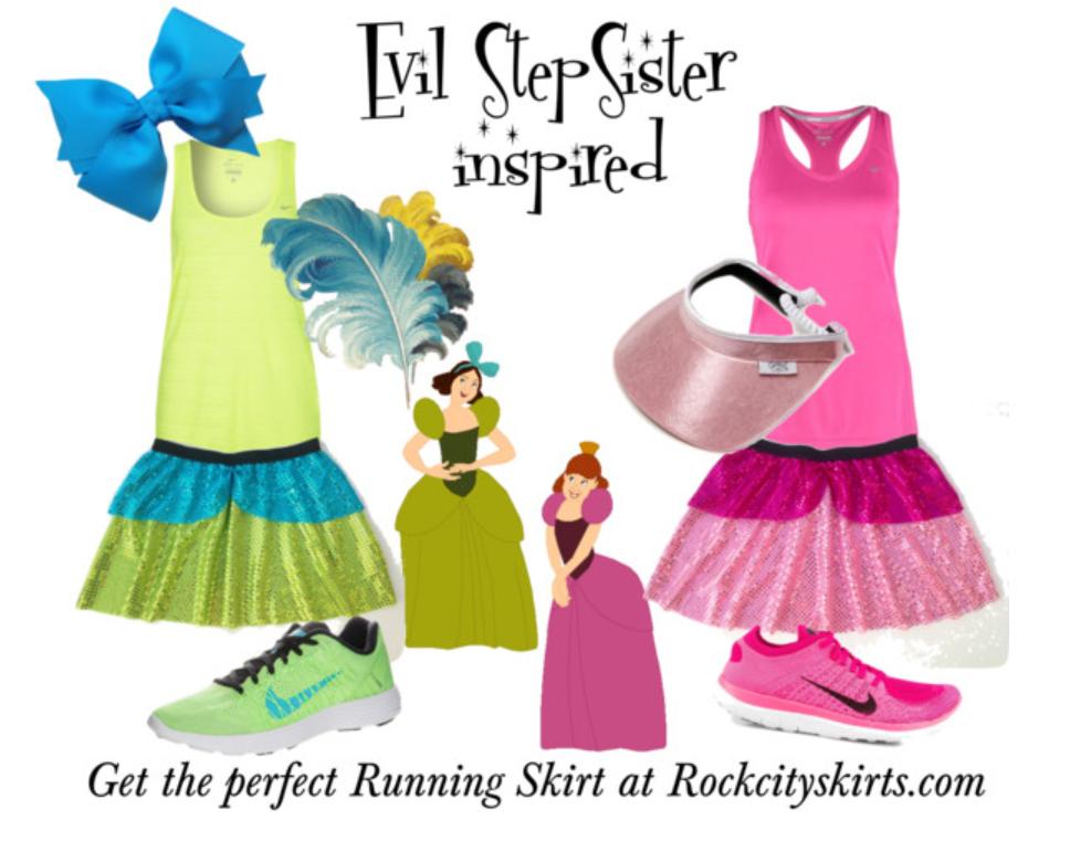 evil step sister costume