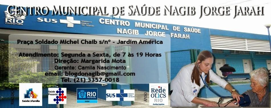 Centro Municipal de Saúde          Dr Nagib Jorge Farah