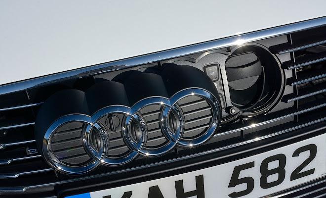 Audi A3 Sportback e-tron charging point