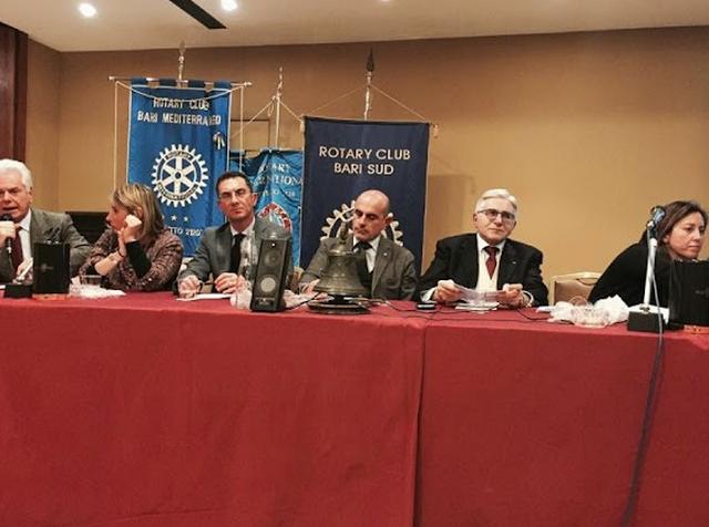 La straordinaria attività interclub del Rotary Mediterraneo