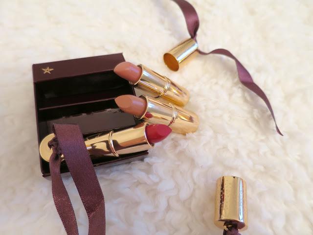 What I Got For Christmas Presents 2015 charlotte tilbury lipstick charm make up