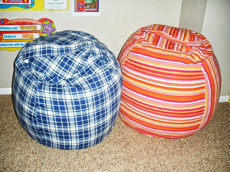 DIY Rollie Pollie Bean Bag Chairs Dana Made It
