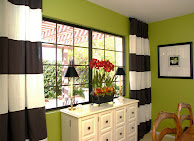 STRIPED WINDOW TREATMENTS