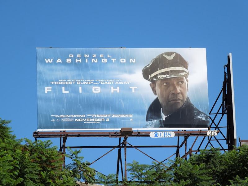 Flight movie billboard