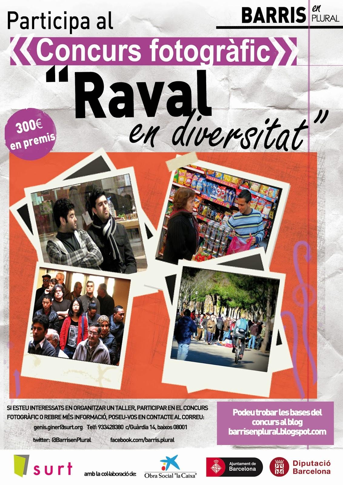 Cartell del concurs Raval en diversitat