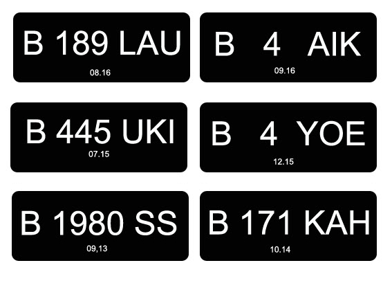 Plat Nomor Mobil Genap Dan Ganjil Jakarta Sci Pusat