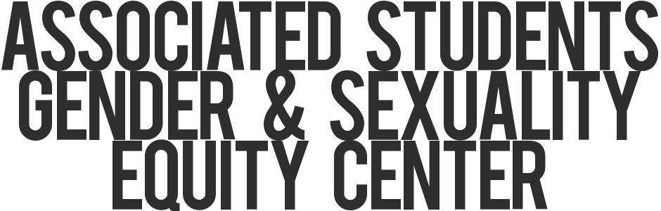 Associated Students Gender & Sexuality Equity Center