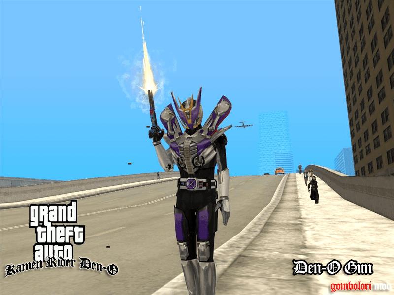 Kamen Rider Den-O Gun Form