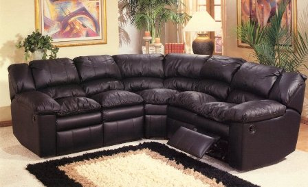 Expensive leather sofa pays off in family room - Home Design Decor