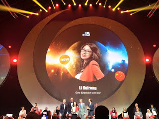 Global Top 15 Oriflame #15 China Li Huirong (Gold Executive Director)