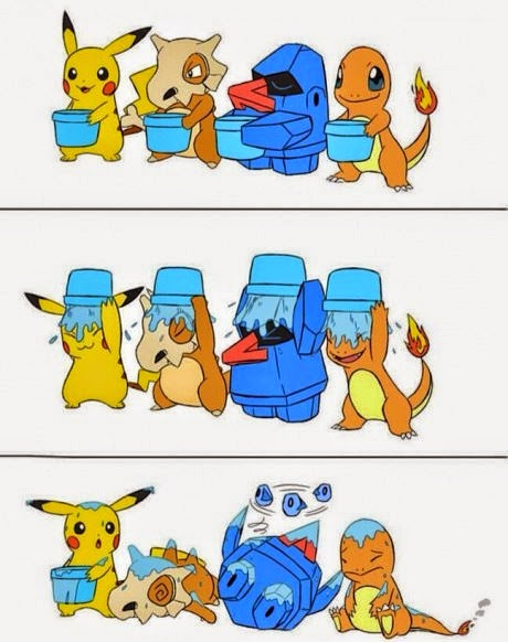 Ice Bucket Challenge Pokemon